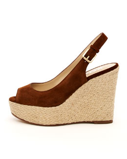 KORS Michael Kors Keelyn Suede Wedge