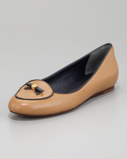 Tory Burch Dakota Bow-Toe Loafer