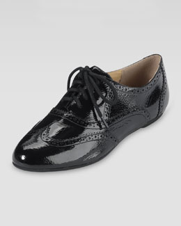 Cole Haan Tompkins Patent Leather Oxford, Black