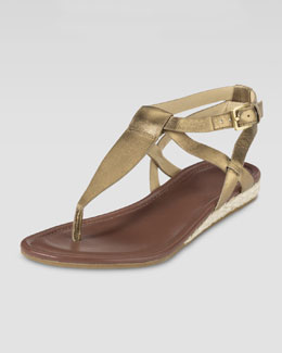 Cole Haan Grove Metallic Sandal, Bronze