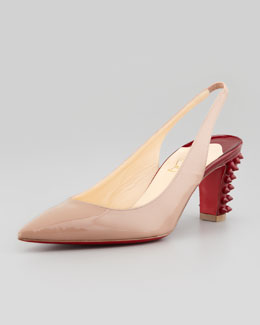 The Single-Sole, Pointed-Toe