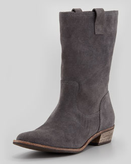 Splendid Pueblo Suede Pull-On Bootie