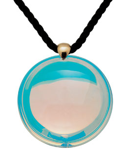 Baccarat Small Eclipse Pendant, Clear