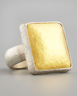 Gurhan Gold Square Ring