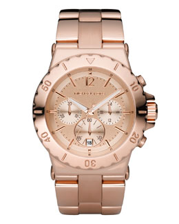 Michael Kors  Rose Golden Chronograph Watch