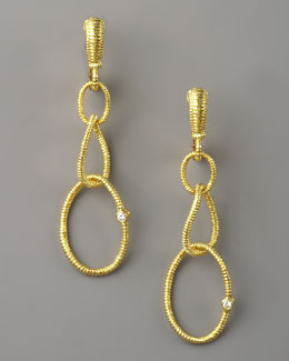 Judith Ripka Jubilee Earrings, Small