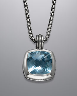 David Yurman 17mm Blue Topaz Enhancer