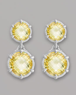 Judith Ripka Eclipse Earrings
