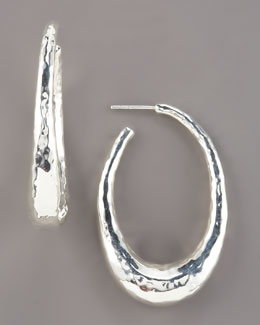 Ippolita Glamazon Oval Hoop Earrings, Small