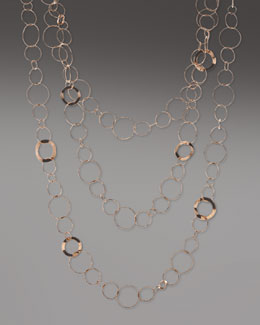 Ippolita Rose Long Three-Strand Necklace