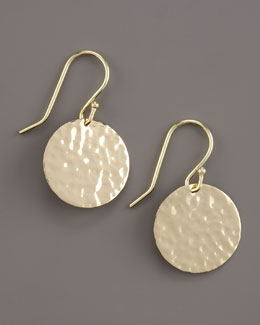 Ippolita Hammered Circle Earrings