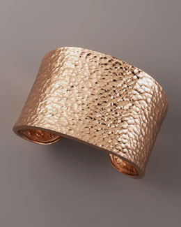 Nest Hammered Cuff