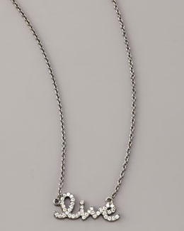 Sydney Evan Diamond Live Necklace