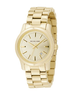 Michael Kors  Shiny Golden Watch