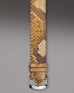 Philip Stein Golden Snake Strap, 18mm