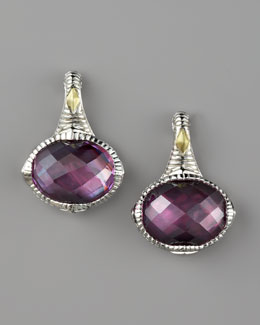 Judith Ripka Corundum Doublet Drop Earrings