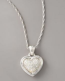 John Hardy Diamond Heart Pendant Necklace