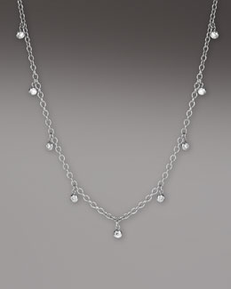 Ippolita Diamond Station Necklace