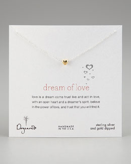 Dogeared Dream of Love Pendant Necklace