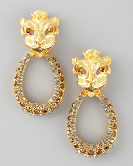 Aldazabal Lion Earrings