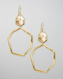 Ippolita Geometric Drop Earrings, Quartz