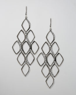 Ippolita Pave Diamond Cascade Earrings