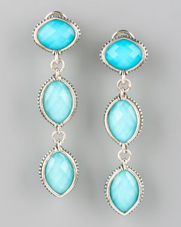 Lagos Venus Double-Drop Earrings