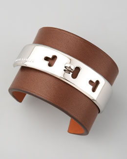Ralph Lauren Lambskin Cuff, Dark Brown