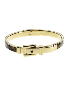Michael Kors  Buckle Bangle, Tortoise
