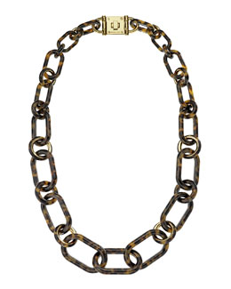 Michael Kors  Turnlock Closure Necklace
