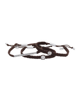 Michael Kors Exclusive Bracelet Bundle, Chocolate