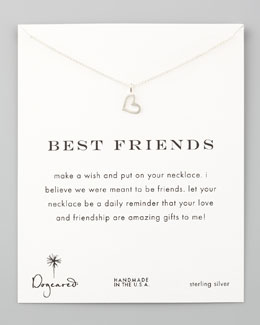 Dogeared Best Friends Necklace