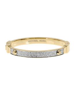 Michael Kors  Pave Hinge Bracelet, Golden