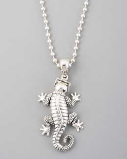 Lagos Rare Wonders Gecko Pendant Necklace