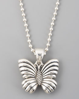 Lagos Rare Wonders Butterfly Pendant Necklace