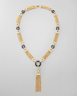 Rachel Zoe Chain Tassel Necklace