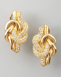 Rachel Zoe Love Knot Post Earrings