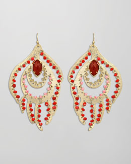 Kendra Scott Paula Feather Earrings