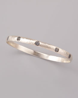 Gurhan Hammered Dot Bangle