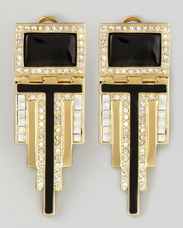 Rachel Zoe Deco Drop Earrings