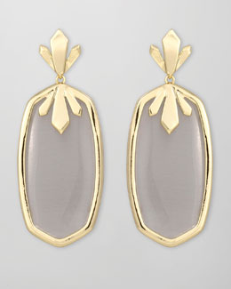 Kendra Scott Dillon Earrings, Slate