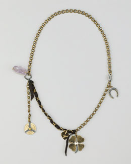 Lanvin Charm Necklace