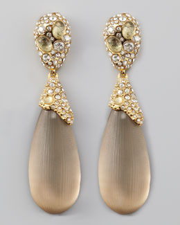 Alexis Bittar Double Drop Lucite Earrings