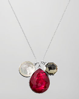 "Ippolita Three-Pendant Necklace, 32""L"