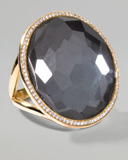 Ippolita Hematite Lollipop Ring