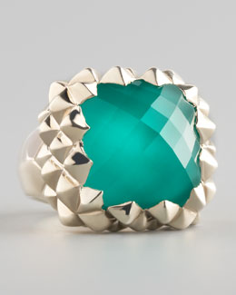 Stephen Webster Superstud Small Chrysoprase Ring