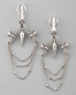 Stephen Webster Pave Chandelier Earrings