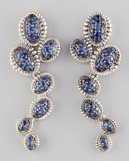 Lagos Muse Blue Sapphire Earrings