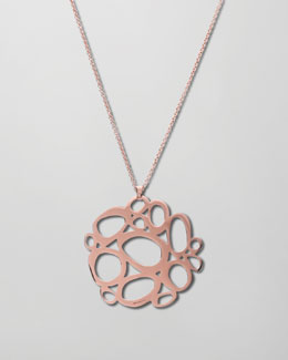 Ippolita Rose Gold Mosaico Pendant Necklace