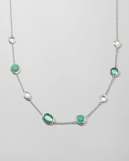 Ippolita Wonderland Mini Gelato Necklace, Mint